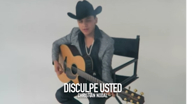 Disculpe Usted Christian Nodal