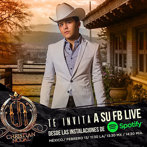 spotify mexico christian nodal