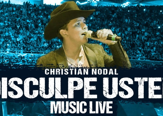 Christian Nodal – Disculpe usted desde Arena Vicente Fernández